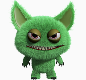 The gremlin who cruises your head looking for ways to sabotage your writing.
